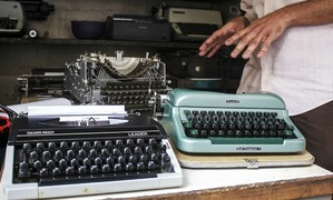 How my quest for a typewriter in Karachi revived a love for all things retro