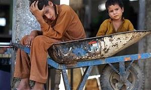 Children at construction sites — labour most foul!