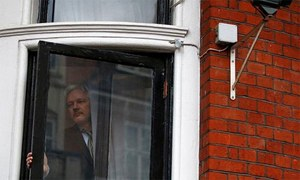 Assange calls on Sweden, Britain to allow him freedom