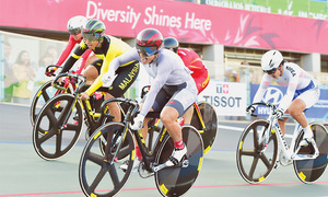 SAG: Pakistan open medal count with bronze in cycling, weightlifting
