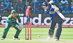 Hales falls for 99 as England take 2-0 lead