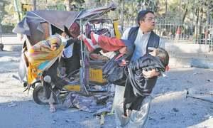 Suicide attack on FC convoy in Quetta; 10 killed