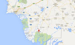 شاہ بندر: جزیرے پر آتشزدگی، 11 افراد ہلاک