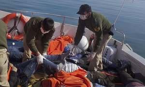 ترکی کے قریب 24 تارکین وطن ڈوب گئے