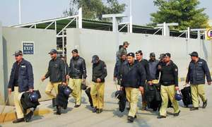 PIA employees' protest camp shifted from Islamabad airport