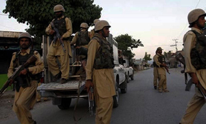 Zhob clash leaves two suspected militants dead