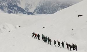 A letter from Siachen