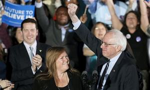 The Sanders moment