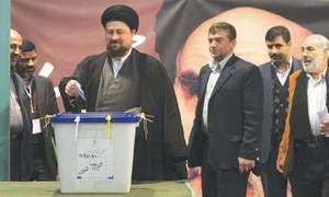 Khomeini grandson loses appeal to stand in Iranian election