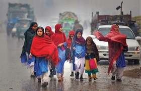 Rain, snowfall lash parts of Khyber Pakhtunkhwa