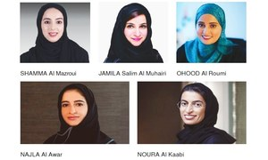 UAE names woman ministers for happiness, tolerance
