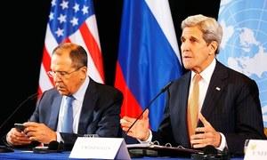 عالمی طاقتوں کا شام میں جنگ بندی پر اتفاق