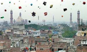 Lahore's Taxali Gate to enjoy a kite-less Basant festival