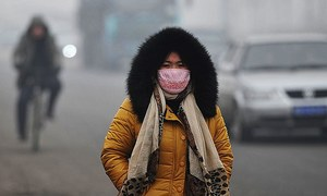 'فضائی آلودگی سے سالانہ 55 لاکھ اموات'
