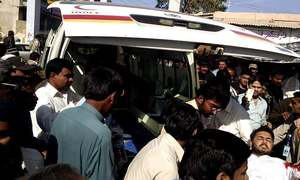 One killed, eight wounded in clash between PML-N, PPP workers in AJK