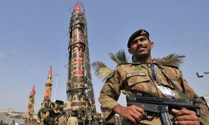US expresses concern over security of Pakistan's N-weapons