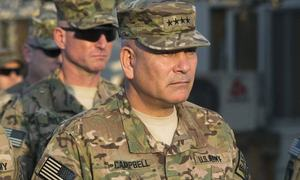 US general optimistic about peace in Afghanistan