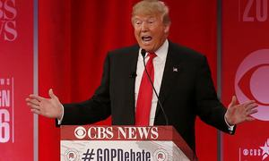 Refusing to sit on lead, Trump gets bitter in heated Republican debate
