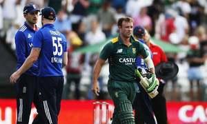 انگلینڈ کو جنوبی افریقہ کے ہاتھوں شکست