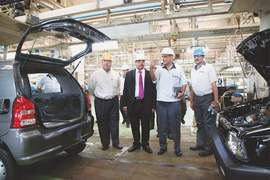 Issues in auto making for achieving economies of scale