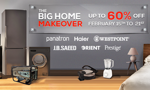 Revamp your home with Daraz.pk's 'Big Home Makeover' sale