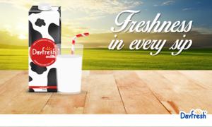 Dayfresh milk brand - with 'no added preservatives'