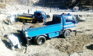 Flood brings 'gift of nature' for Upper Dir people