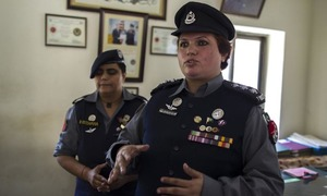 Women a 'nuisance' for police?