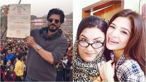 This week in pictures: Ayesha Omar gets back on her feet whereas SRK goes back to school
