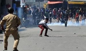 کشمیر: سیکیورٹی فورسز سے جھڑپیں، 3 حریت پسند ہلاک