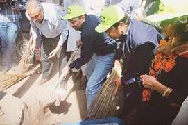 Muttahida launches clean-up drive