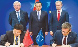 Trade discord should not affect  EU-China relations