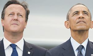 The real loser in Barack Obama's worldview is David Cameron
