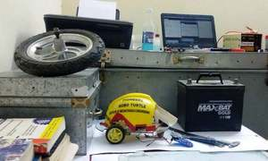 Will an emergency brake system cut car accidents? Peshawar students find out