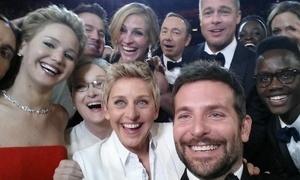Oscar selfie becomes highest retweeted image in history