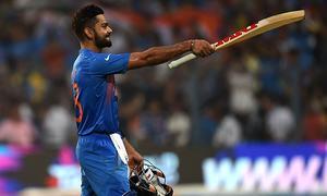 India, Kohli lead in ICC rankings ahead of World T20 semis