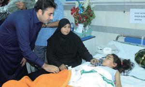 Bilawal meets blast survivors, vows to end terrorism