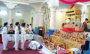 Sikh temple reopens for worship after 70 years in Peshawar