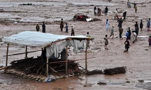 خیبر پختونخوا میں بارشوں سے تباہی