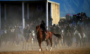 Afghanistan's ultimate test of manhood: Polo with a carcass