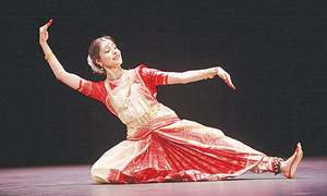 Female guru popularising niche and intricate Indian dance