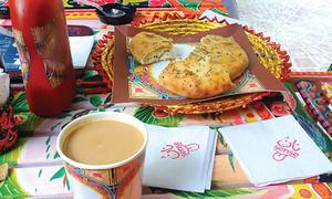 پشاور کا 'نان سینس' لوگوں کی توجہ کا مرکز