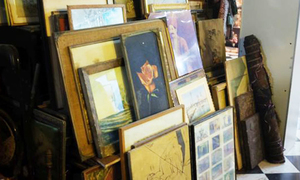 An antique market in Karachi's Saddar sells nostalgia