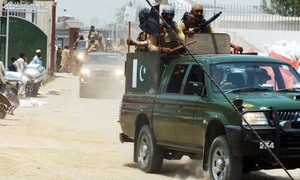Two 'militants' killed in raid on Panjgur camp