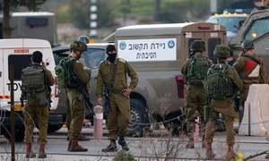 اسرائیلی فوج کی فائرنگ سے فلسطینی بہن بھائی قتل