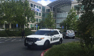 Apple employee died of self-inflicted gunshot wound: police