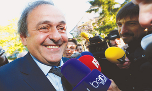 CAS set to rule on Platini ban on May 9
