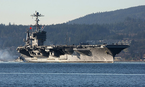 China turns down request for Hong Kong visit by US carrier group