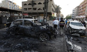 At least 21 dead in Baghdad car bombing