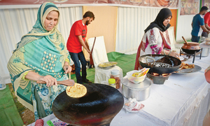 Visitors slam high prices at Punjab food festival